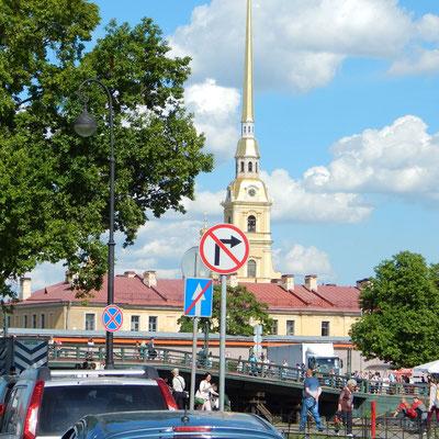 Die Peter Paul Festung in Sankt Petersburg