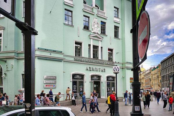 Metrostation Admiralteyskaya