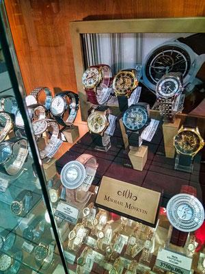 Uhren in Sankt Petersburg