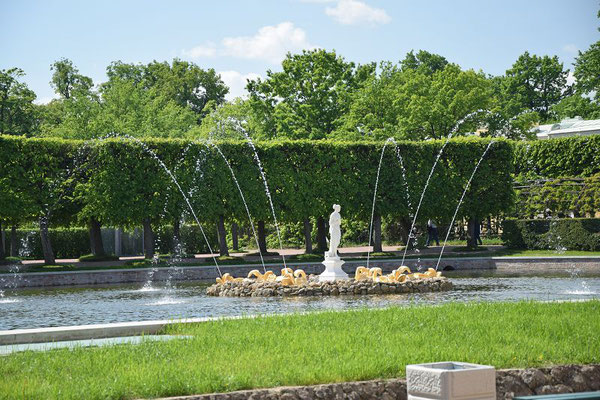 Fontäne oberer Park