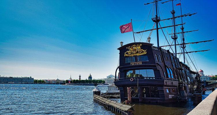 fliegender Holländer in St Petersburg