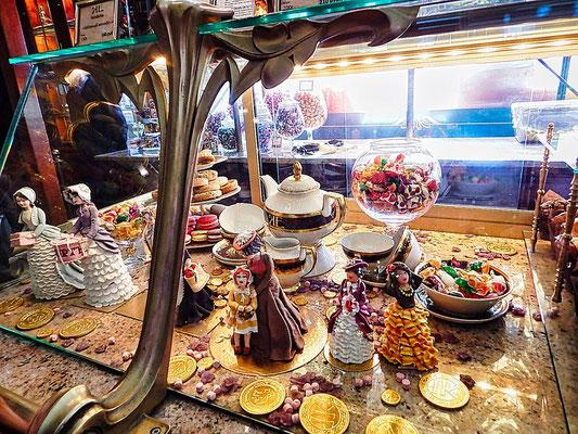 Angebot im Delikatessenladen Jelissejew