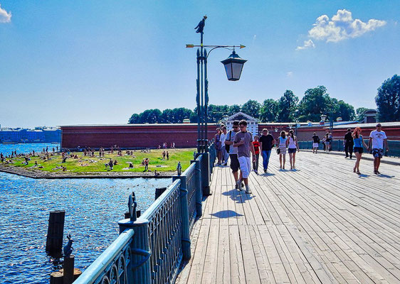 Brücke und Tor zur Peter Paul Festung