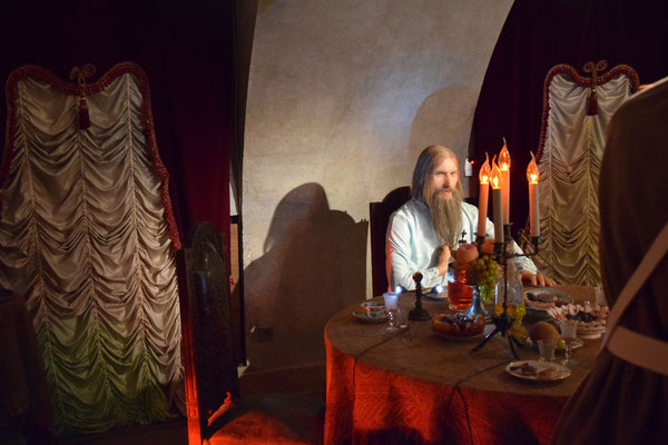 Rasputin im Keller