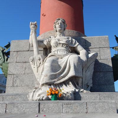Figur vom Leuchtturm