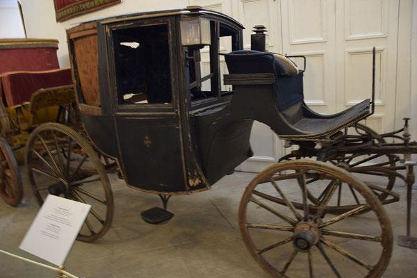 Kutsche von Zar Alexander II. auf diese wurde der Anschlag verübt