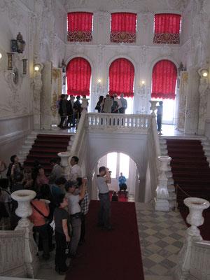 Eingangsbereich im Katharinenpalast von Zarskoje Selo.