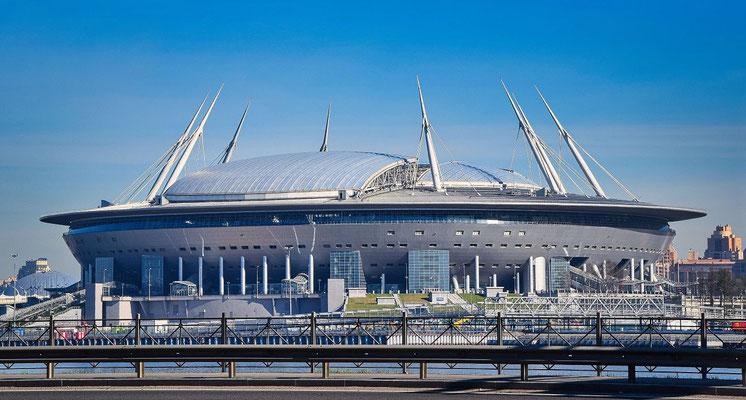 das neue Zenit Stadion
