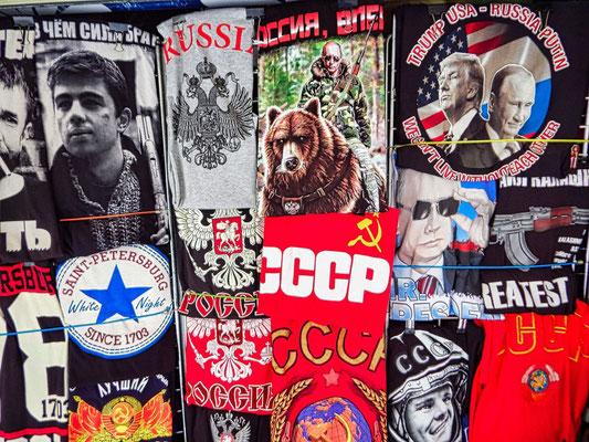 T Shirts aus Russland