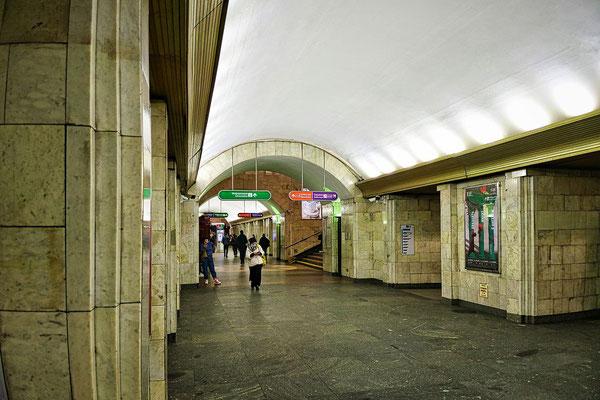 Sennaya Ploschad Metrostation der blauen Linie