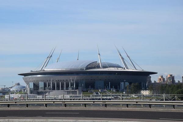 das neue Fussballstadion
