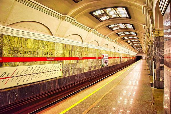 Bahnsteig der Metrostation