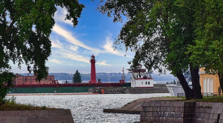 Leuchtturm in Kronstadt