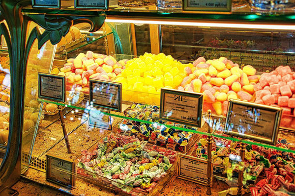 Süßigkeiten im Jelissejew