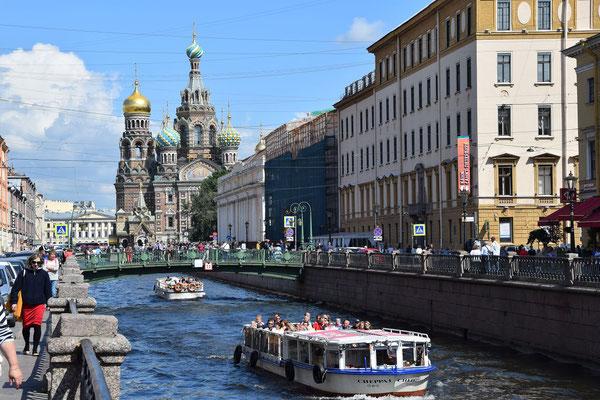 Kanalfahrt an der Blutskirche 2021