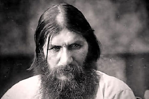 Foto von Rasputin im Jussupow Palast Sankt Petersburg.      k