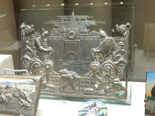 Kunstwerk aus Silber