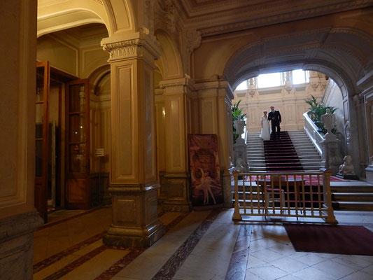 Der Eingangsbereich des Jussupow Palastes