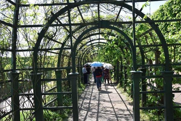 Labyrint im oberen Park