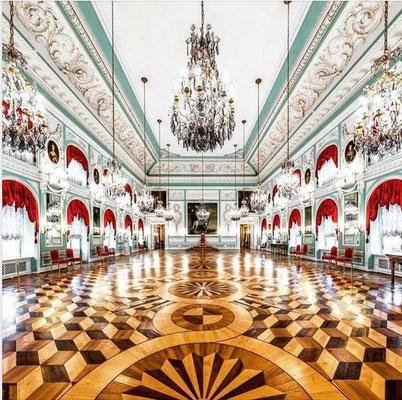 Thronsaal in Peterhof