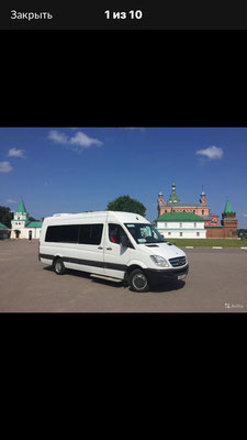 Mercedes Sprinter - dieses Fahrzeug setzen wir bei unseren Touren ein