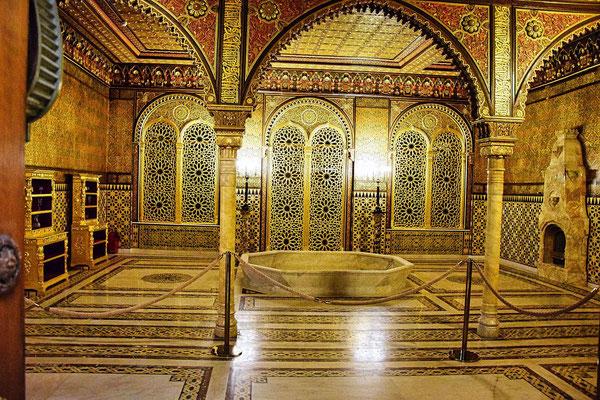Badezimmer im Palast