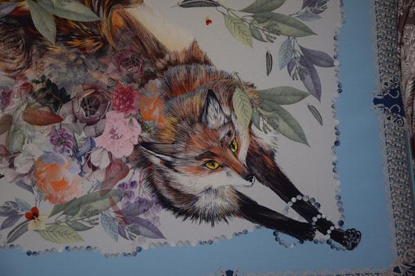 Tuch mit Fuchs