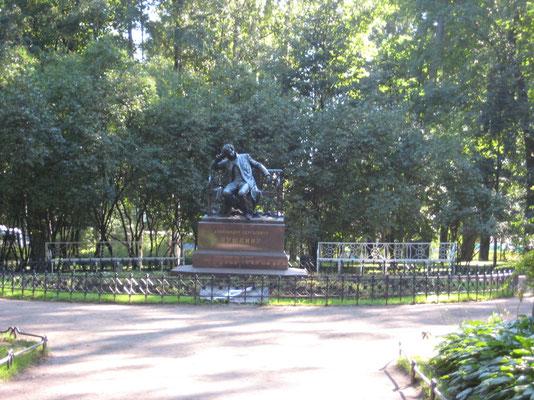 Denkmal von Puschkin.