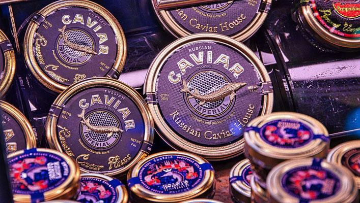 Caviar im Delikatessenladen