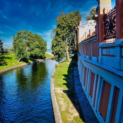 Kanal am Newski Kloster
