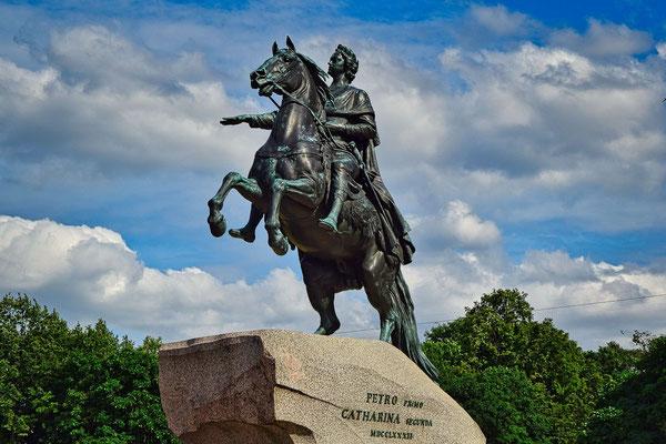 eherner Reiter in Sankt Petersburg