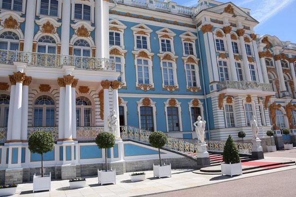 Katharinenpalast von außen
