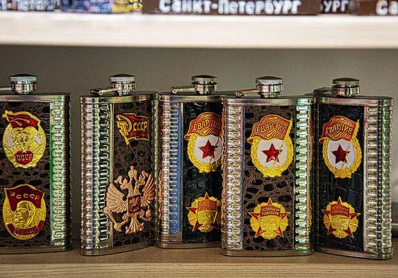 Flaschen für Wodka