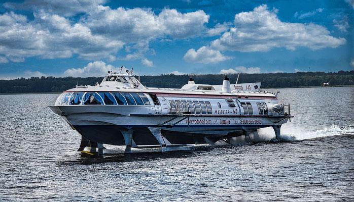 Tragflächenboot nach Peterhof