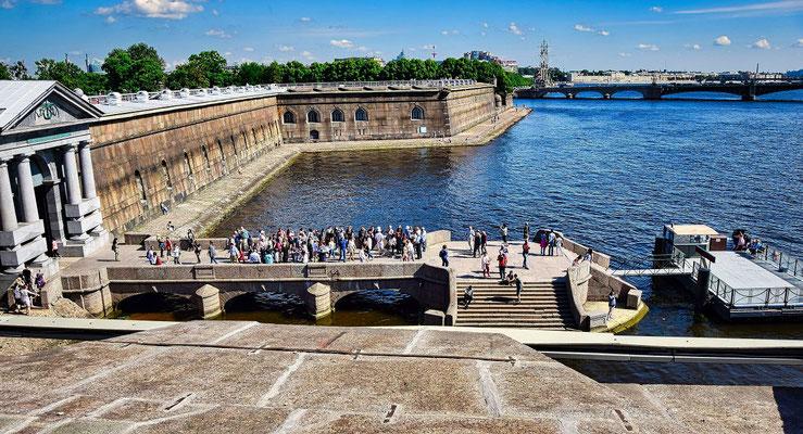Festungsanlage der Peter Paul Festung