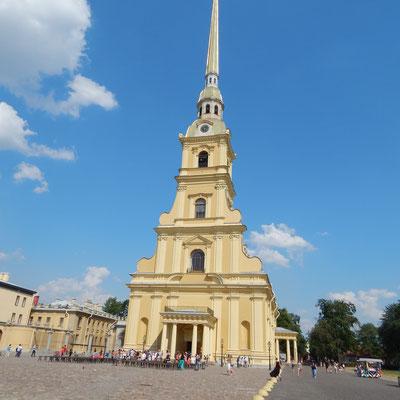 die Peter und Paul Kathedrale