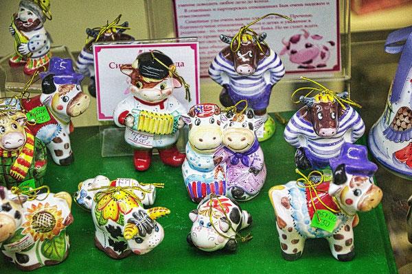 Figuren aus Porzellan