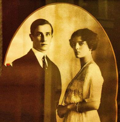 Foto Jussupow mit seiner Frau