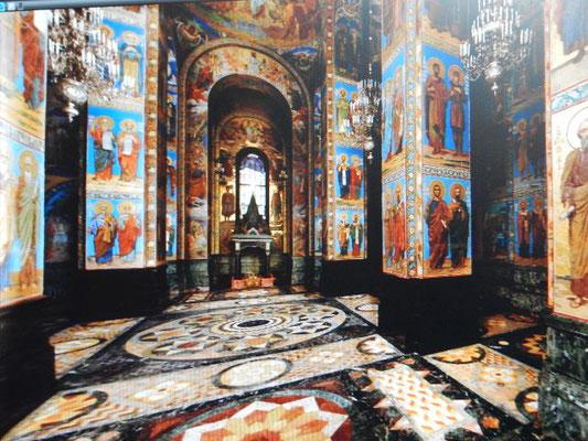 Innenbereich der Auferstehungskirche Blutkirche