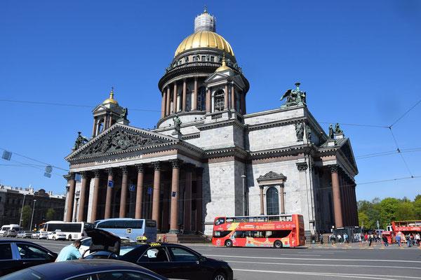 Isaakskathedrale in Sankt Petersburg