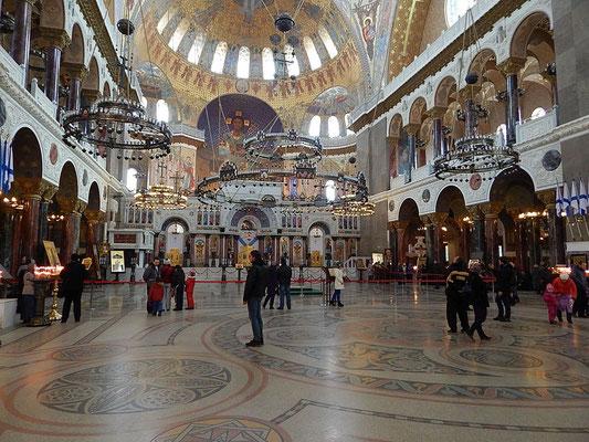 Nach vielen Jahren der Renovierung, wurde dies Kathedrale wieder eröffnet.