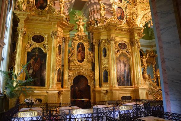 Kathedrale der Peter und Paul Festung Innenansicht
