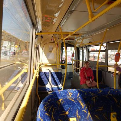 Bus Innenansicht