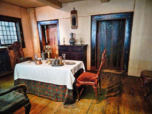 Die Unterkunft ist im Original erhalten geblieben.
