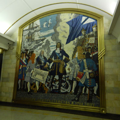 Metrostation Admiraltetskaya