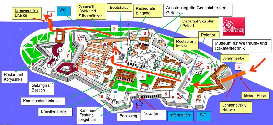 Schema Peter Paul Festung