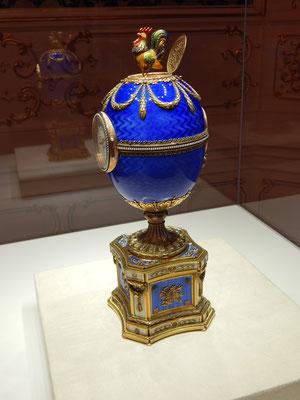 Faberge-Ei im Museum Sankt Petersburg