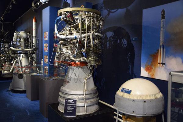 Raketentechnik im Kosmonautenmuseum