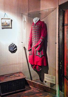 Die Festuniform Peter des Großen