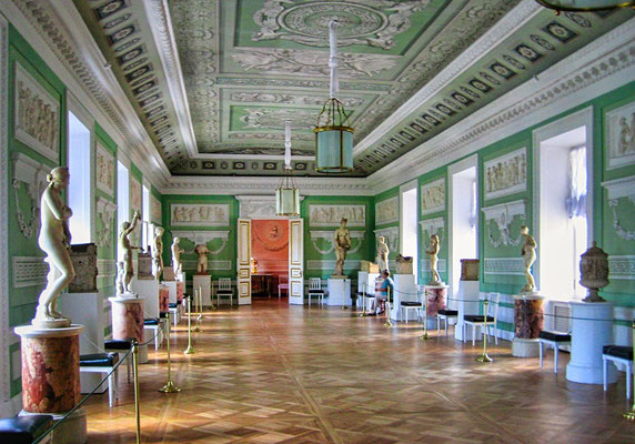 Koridor im Schloß Pawlowsk